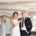 …Первые фото были уже в день свадьбы)